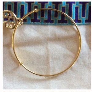 New Tory Burch charm on adjustable bangle bracelet